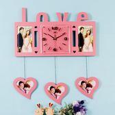 電子鐘掛鐘客廳鐘錶韓式現代簡約創意潮流時鐘時尚個性靜音裝飾鐘xw 全館免運