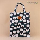 文件袋 包包 防水包 雨朵小舖 M449-035 直立特大A4文件袋-黑幸福木棉花19326 funbaobao