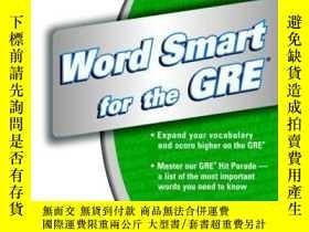 二手書博民逛書店Word罕見Smart For The Gre (smart Guides)Y256260 Princeton