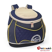 DaisukiCS03南瓜後背寵物袋(L)CS03-LDB-藍黃(L)
