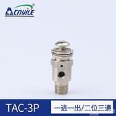 快排閥TAC-MVHA-3p小金井型手動閥空氣閥氣動閥按鈕按壓式快速排氣開關 春季新品