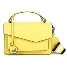 Botkier防刮皮革手提/斜背兩用風琴包(黃色)260001-16