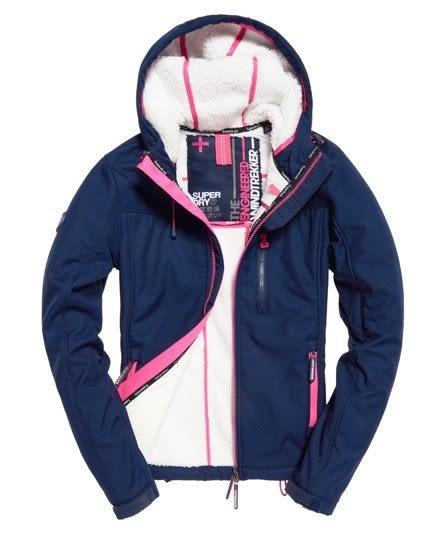 美國代購 現貨 Superdry 極度乾燥 Sherpa SD-Windtrekker 連帽防風夾克 (S.M)