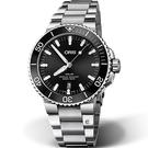 Oris豪利時Aquis時間之海300米潛水機械錶 0173377304134-0782405PEB 43.5mm