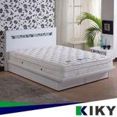 二代德式療癒型舒眠護背彈簧雙人加大床墊6尺