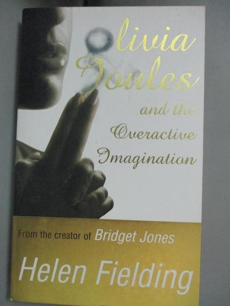【書寶二手書T9/原文小說_G8B】Olivia Joules Overactive Imag_Helen Fielding