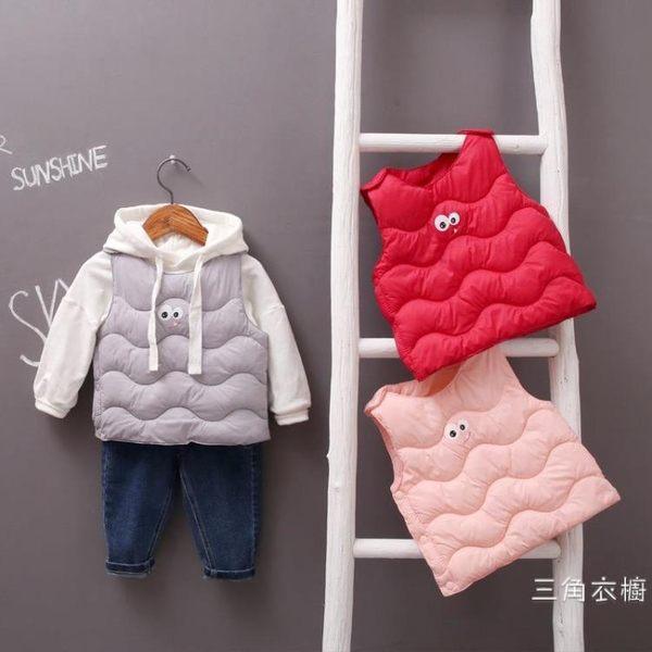 女寶寶夏季裝羽絨棉馬甲0一1歲韓版2時尚3-6個月男童坎肩背心嬰兒潮