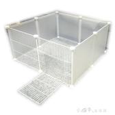 狗狗圍欄室內柵欄隔離門小型犬泰迪欄桿兔子寵物貓咪擋板籠子護欄最低價YJT 【快速出貨】