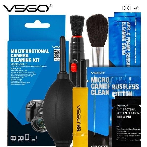 【聖影數位】威高 VSGO DKL-6 多功能相機清潔套裝 公司貨