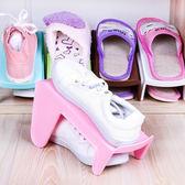 ✭米菈生活館✭【H44】雙層立體鞋子收納架 加厚 鞋櫃 居家 整理 防滑 整齊 空間 衛生 疊放 乾淨