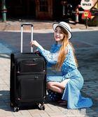 牛津布拉桿箱女行李箱萬向輪密碼箱防水拉箱行李箱24男布箱大容量QM『櫻花小屋』