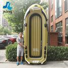 橡皮艇加厚充氣雙人單人氣墊船XW中秋烤肉鉅惠