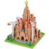 《 Nano Block 迷你積木 》【世界主題建築系列】NBH_211聖家堂 / JOYBUS玩具百貨