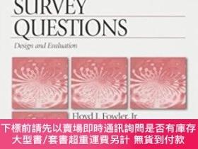 二手書博民逛書店Improving罕見Survey QuestionsY464532 Floyd J. Fowler Sage