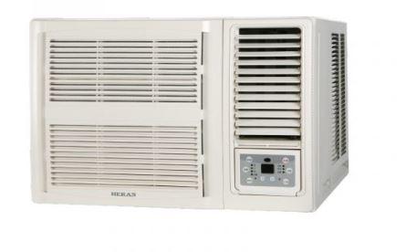 (含標準安裝)禾聯HERAN定頻冷暖窗型冷氣HW-50P5H
