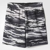 adidas 短褲 Essential Short AOP 虎紋 迷彩 運動褲 男款 【PUMP306】 AY9102