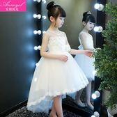兒童裙夏季新款蓬蓬紗小女孩兒童洋氣公主裙 Ic427『男人範』