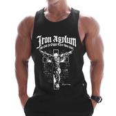MSCT健身潮牌網眼透氣速干無袖運動T恤男跑步運動背心訓練服上衣