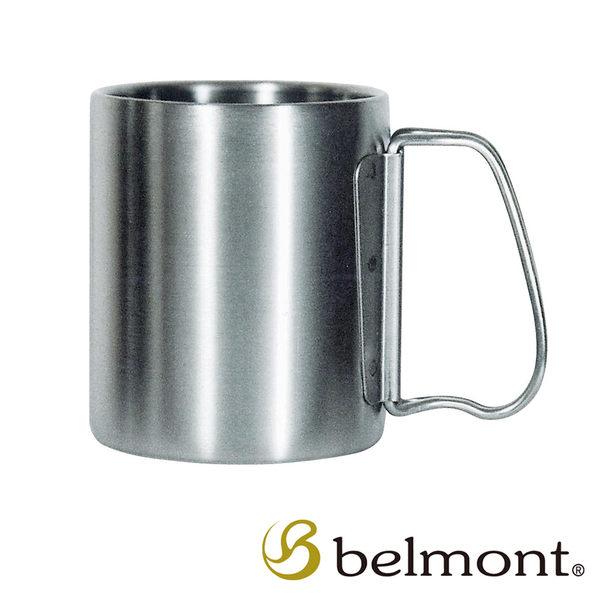 BELMONT 日本 雙層摺柄鈦杯〈220ml〉日本製造│原裝進口│精品│頂級鈦合金 BM-052