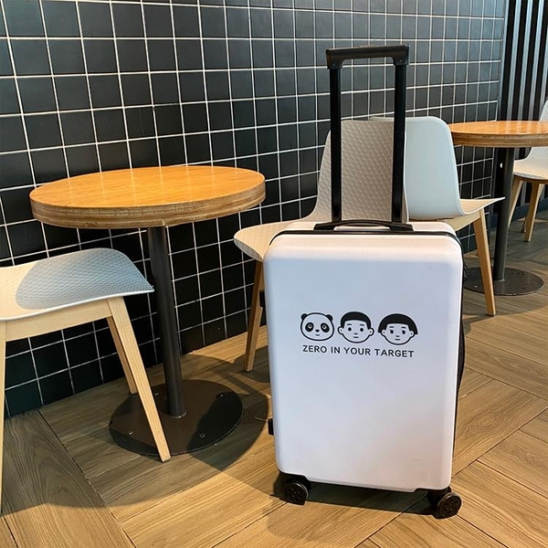 行李箱ins網紅新款小型20旅行箱子24寸皮箱拉桿箱女男大容量26潮-金牛賀歲