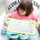 琪趣兒童畫畫板磁性寫字板塗鴉板磁力寶寶幼兒大號彩色1-3歲2玩具 NMS漾美眉韓衣