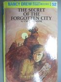 【書寶二手書T6/原文小說_GTF】The Secret of the Forgotten City_Carolyn K