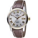 TITONI天星系列歐式經典機械腕錶   83538SY-ST-561