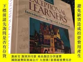 二手書博民逛書店EXCEPTIONAL罕見LEARNERS Introduction to Special Educatio (7