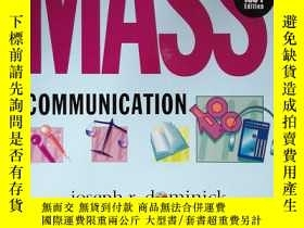 二手書博民逛書店The罕見Dynamics of Mass Communicat