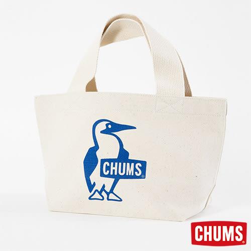 CHUMS 日本 Booby 帆布托特包(小) 藍 CH602367A001