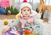 女童護耳毛  寶寶帽子款男童女童兒童防風護耳雷鋒帽小孩保暖嬰兒帽子    瑪麗蘇