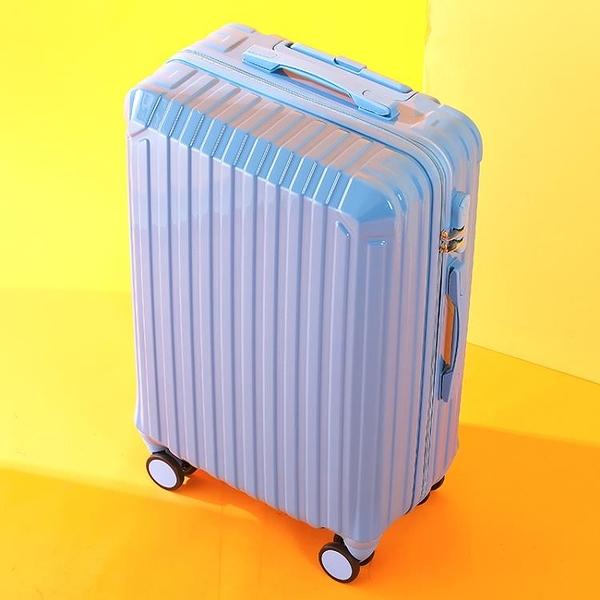 行李箱女網紅ins潮男拉桿箱24學生旅行密碼皮箱子26輕便小型20寸-金牛賀歲