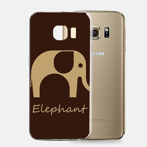 ♥ 俏魔女美人館 ♥Samsung Galaxy S7 {咖啡象*軟殼} 手機殼 手機套 保護殼