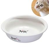 『寵喵樂旗艦店』 日本Marukan貓咪新款陶瓷碗CT-274