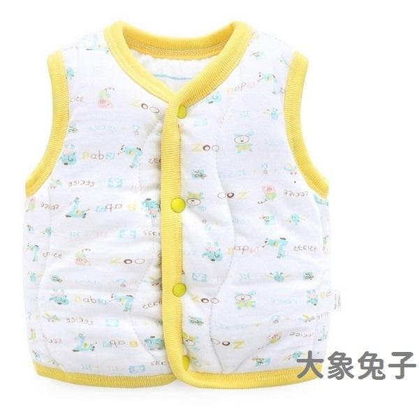 鋪棉寶寶背心 舖棉保暖嬰兒背心 秋冬童裝 LW10907 好娃娃