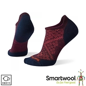 【SmartWool 美國 女 PhD輕量菁英減震型跑步踝襪《葡紫藍》】SW0SW210/短襪/運動襪
