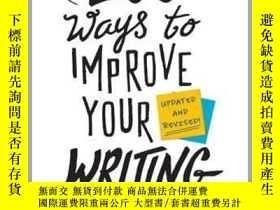 二手書博民逛書店英文原版罕見提高寫作的100種方法(新版)100 Ways to Improve Your Writing (Up