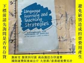 二手書博民逛書店Language罕見Learning and Teaching