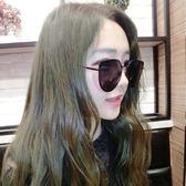 新款墨鏡女潮復古氣質太陽鏡長圓臉個性韓國貓耳朵眼鏡十月週年慶購598享85折