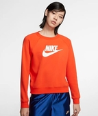 NIKE服飾系列-AS W NSW ESSNTL CREW FLC HBR 女款長袖上衣-NO.BV4113891