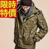 登山外套-透氣保暖防風防水男滑雪夾克62y8【時尚巴黎】