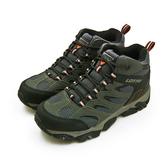 LIKA夢 LOTTO 專業多功能防潑水郊山戶外健行登山鞋 SABRE MID 2系列 灰黑 0558 男