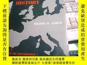 二手書博民逛書店INTERPRETING罕見EUROPEAN HISTORY 解