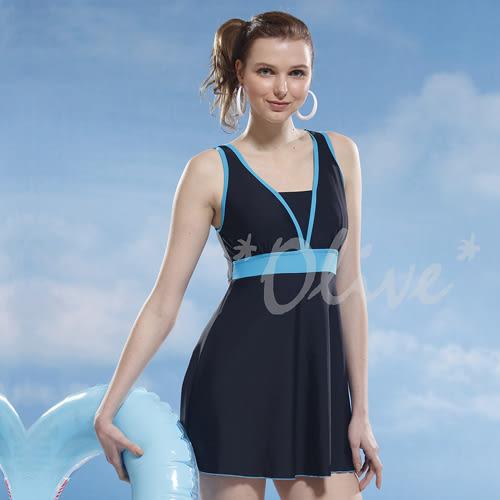 ☆小薇的店☆泳之美品牌【簡約素雅風格】時尚連身裙泳裝特價1190元 NO.2357(4L)加大款