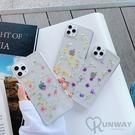 小碎花 滿天星 永生真花 滴膠手機殼 防摔殼 iPhone 12 11 Pro Max XR Xs 7/8 SE2 蘋果 手機殼