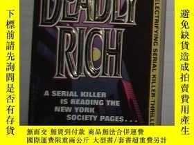 二手書博民逛書店英文原版罕見Deadly Rich by Edward Stew