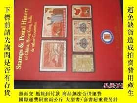 二手書博民逛書店Stamps罕見& Postal History of Chinaindia & other Countries