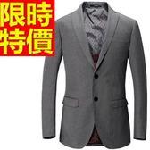 西裝套裝 包含西裝外套+褲子 男西服-上班族制服率性大方必備優質54o35[巴黎精品]