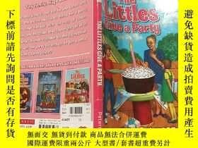 二手書博民逛書店THE罕見LITTLES GIVE A PARTY:孩子們開了一個聚會Y200392