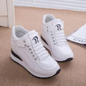 內增高小白鞋子單鞋女